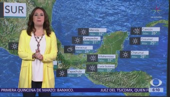 Nuevo frente frío causará vientos fuertes en el norte del país