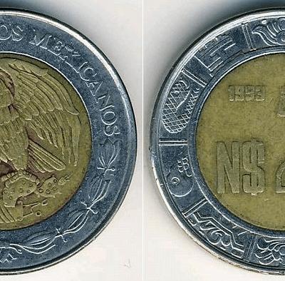 ¿Tienes monedas de 'Nuevos Pesos'? Esto valen ahora...