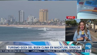 Ocupación hotelera en Mazatlán registra 94% este fin de semana largo