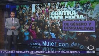 ONU rinde homenaje a activistas que apoyan a mujeres que enfrentan violencia y acoso