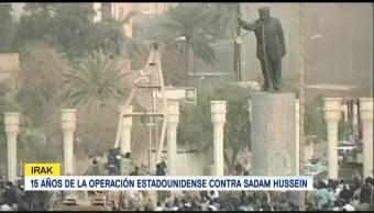 Operación Estadounidense Contra Sadam Hussein
