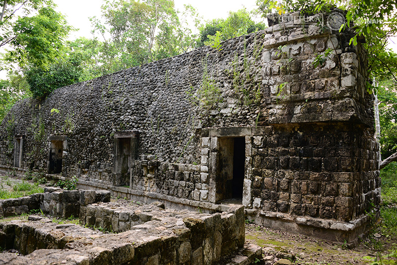 Palacio de los Mascarones de la ciudad antigua de Kulubá