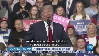Peña Me Pidió Dijera México Pagaría Muro Trump