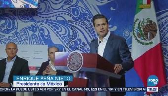 Peña Nieto llama a proteger los mares del mundo