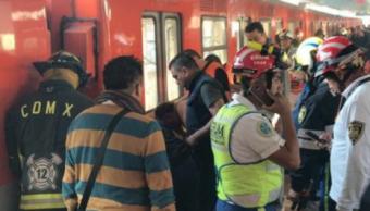 Una persona cae a las vías en estación Xola del Metro CDMX