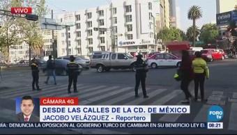 Poca duración de semáforos afecta circulación en Monterrey, colonia Roma
