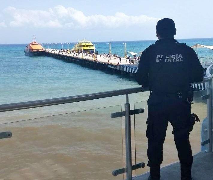 Medidas de seguridad en muelles de QRoo serán permanentes, asegura Administración Portuaria