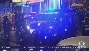 Policías CDMX realizan operativo en la Magdalena Contreras