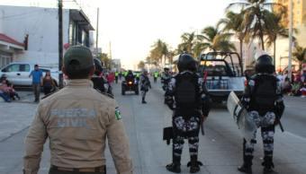 Dictan prisión preventiva a policías implicados en desaparición forzada en Veracruz