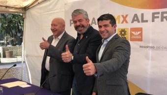 Frente registra candidatos alcaldes, diputados y concejales
