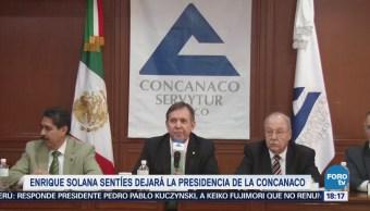Presidente de Concanaco califica de falsas acusaciones en su contra