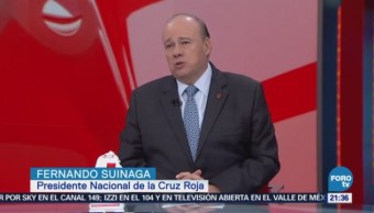 Presidente Nacional Cruz Roja Habla Sobre Colecta Nacional