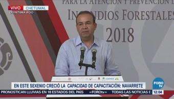 Protección Civil de México se preparan para la temporada de incendios 2018