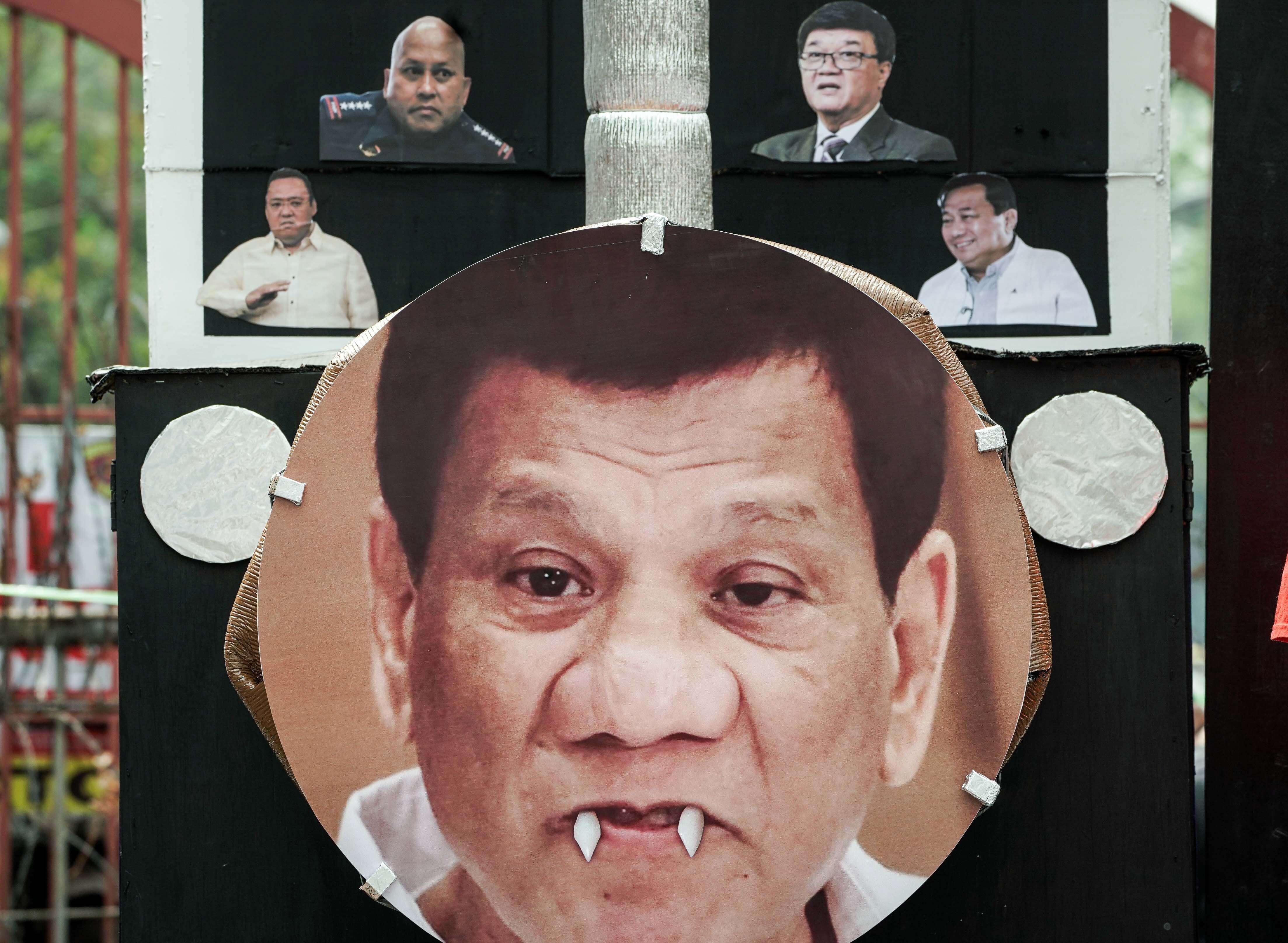 Protestan en Manila contra guerra antidrogas de Rodrigo Duterte