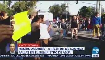Ramón Aguirre Cierre Válvulas Agua Principales Problemas