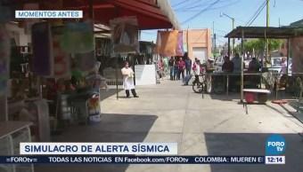 Realizan simulacros de alerta sísmica en Nezahualcóyotl, Estado de México
