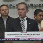 Reconstrucción de la Ciudad de México está en marcha: Mancera