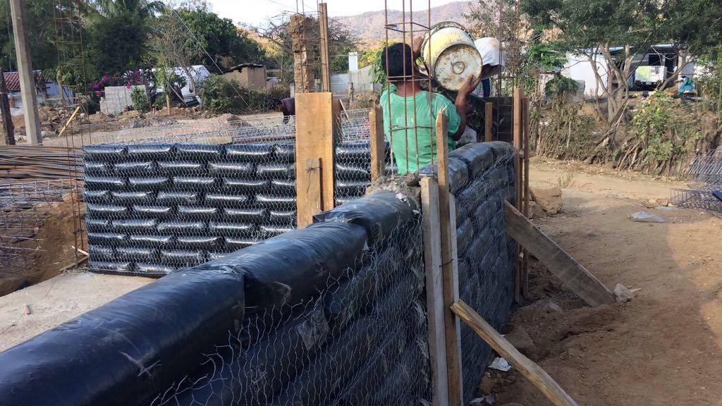 Avanza en 90% reconstrucción de viviendas en Chiapas