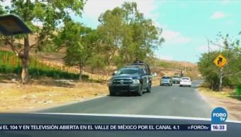 Refuerzan seguridad en Chilapa, Guerrero