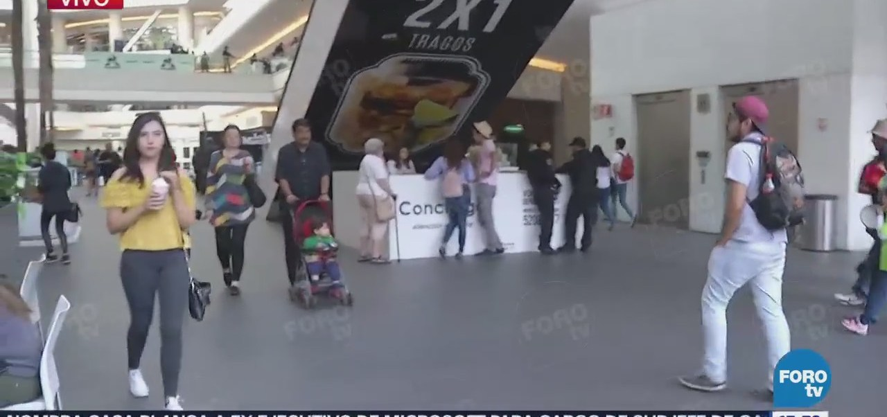 Reportan Balacera Centro Comercial Reforma 222