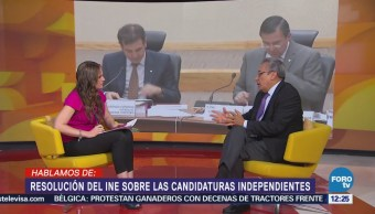 Resolución del INE sobre candidaturas independientes