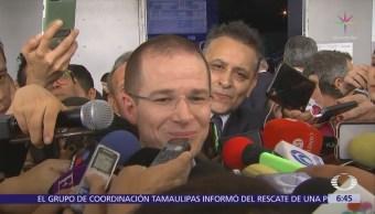 Ricardo Anaya afirma que ataques del Gobierno no lo debilitan