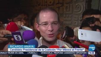 Ricardo Anaya asiste a la Convención Bancaria