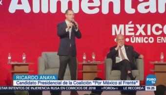 Ricardo Anaya Asiste Expo Antad Alimentaria