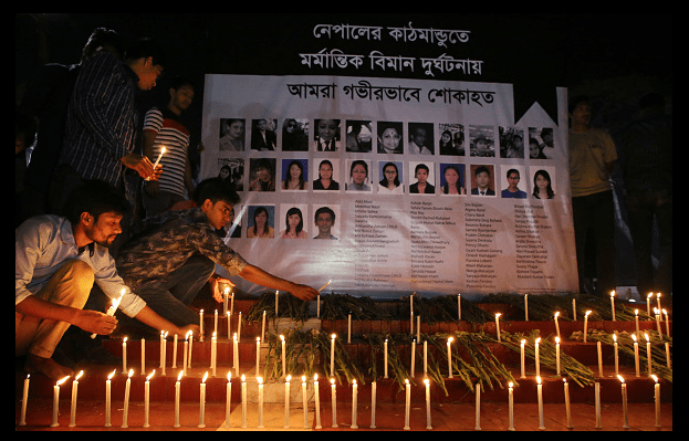 Nepal trabaja en identificación de víctimas en accidente aéreo