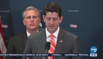 Ryan pide a Trump considerar 'consecuencias' de imponer aranceles