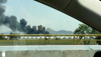 Se incendia corralón en Tala, Jalisco