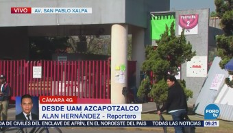 Se mantiene paro en la UAM Azcapotzalco