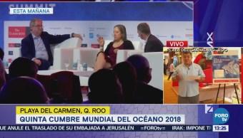 Se realiza la V Cumbre Mundial del Océano en Quintana Roo