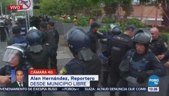 Registra Conato Enfrentamiento Municipio Libre Universidad Cdmx