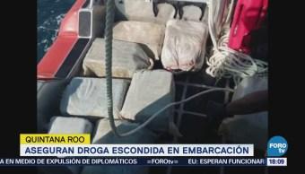 Semar Asegura Casi 300 Kilos Cocaína Quintana Roo