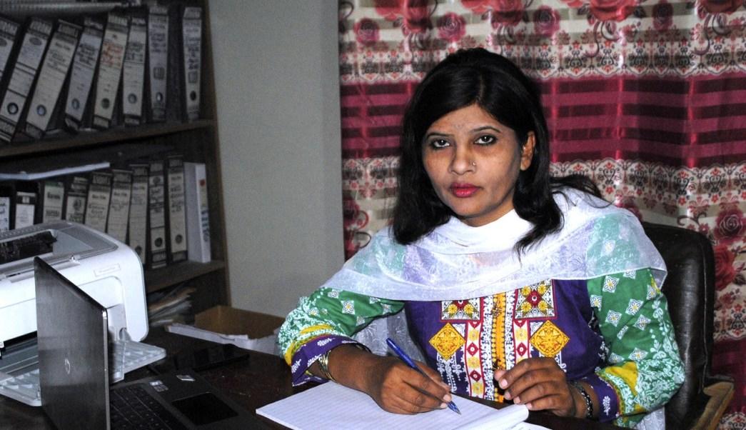 Krishna Kumari, la mujer hindú 'intocable' gana senaduría en Pakistán