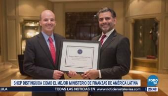 SHCP distinguida como mejor ministerio de finanzas de América Latina