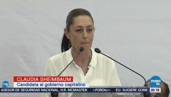 Sheimbaum se registra como candidata al Gobierno de la CDMX