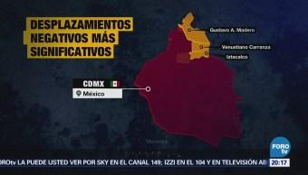 Sismos del 7 y 19 de septiembre dejaron hundimientos en la CDMX