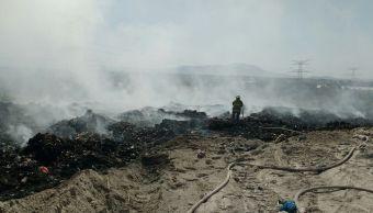 Sofocan incendio en vertedero de Tala, Jalisco