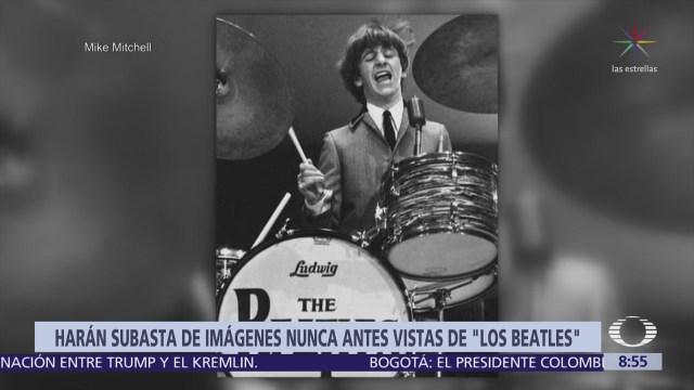 Subastan 413 fotografías de The Beatles