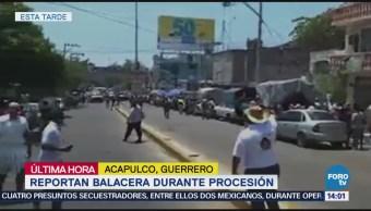 Suspenden Viacrucis en Acapulco por ataque a comisaría