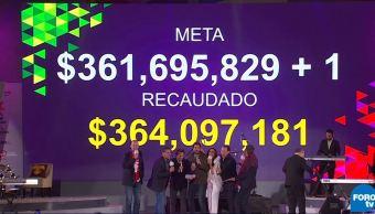 Teletón 2018 llega a la meta y pone a México de Pie