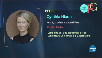 The governor & the city: Cynthia Nixon quiere gobernar