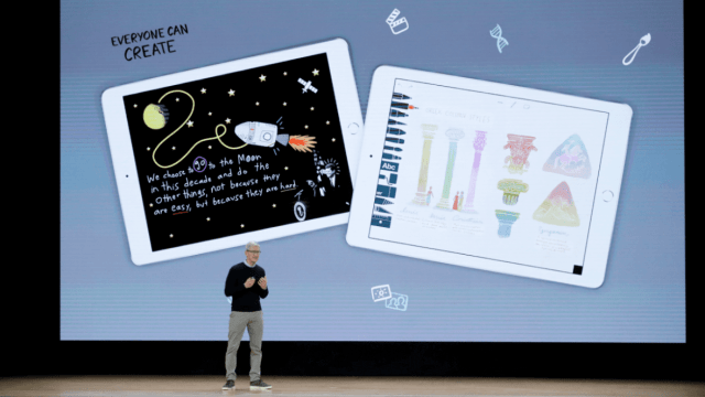 Apple lanza nuevo iPad para estudiantes, pero mantiene precio alto