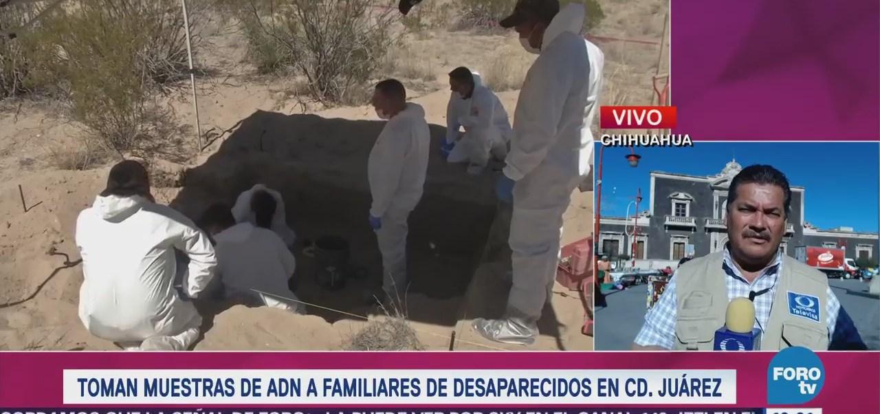 Toman Muestras Adn Familiares Desaparecidos Ciudad Juárez