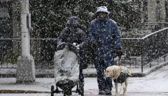Segunda tormenta nieve golpea Estados Unidos