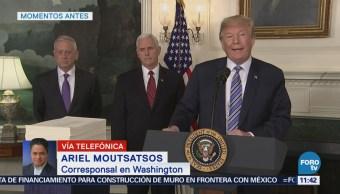 Trump culpa a demócratas de fallas en el presupuesto