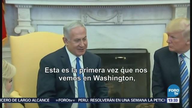 Trump Relaciones Eu-Israel Nunca
