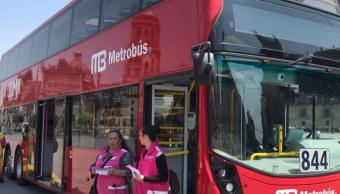 Línea 7 del Metrobús CDMX tiene unidades incluyentes y conectadas al C5